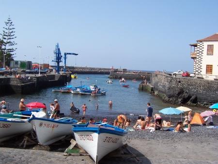 Hafen Strand Puerto de la Cruz