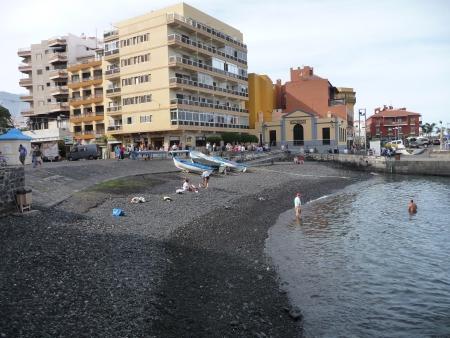 Hafen-Strand Puerto de la Cruz