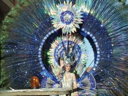 Karnevalskönigin Puerto de la Cruz