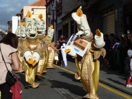 Karnevalsumzug Puerto de la Cruz