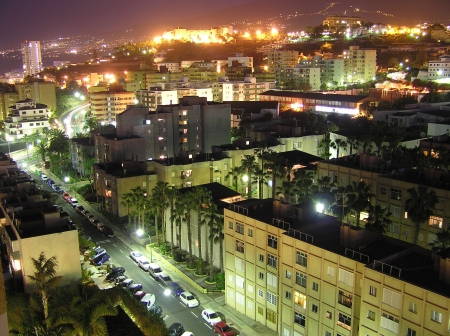 Nachtleben in Puerto