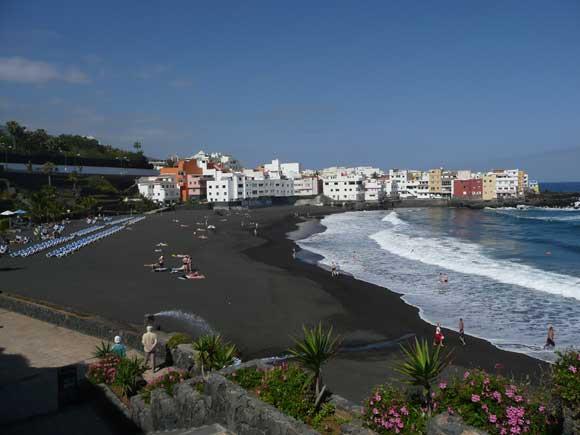 Playa Jardin, Puerto de la Cruz