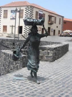 Statue Puerto de la Cruz, Hafen
