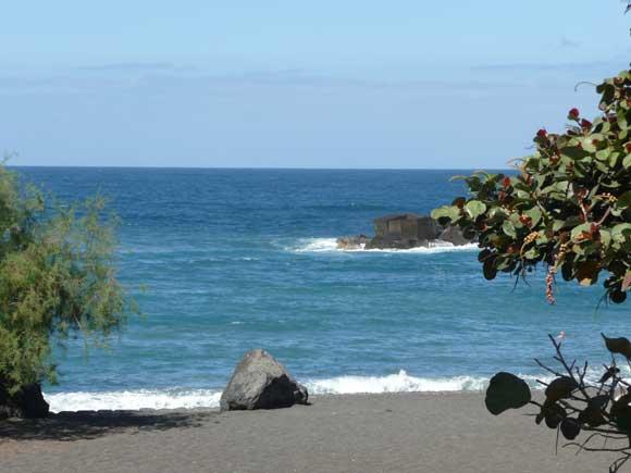 Der Strand Playa Jardin in Puerto de la Cruz