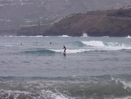 Surf in Puerto de la Cruz